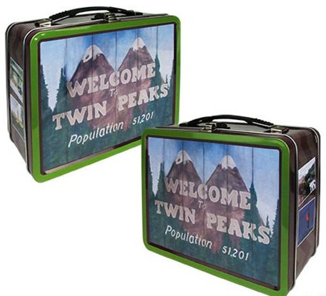 Twin Peaks Retro Tin Lunch Box