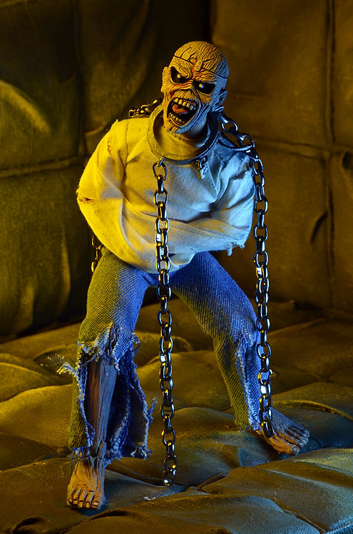 """NECA Iron Maiden – Piece of Mind Eddie 8"""" Clothed Action Figure"""