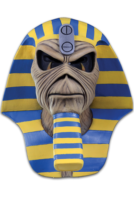 IRON MAIDEN – EDDIE POWERSLAVE ALBUM COVER MASK