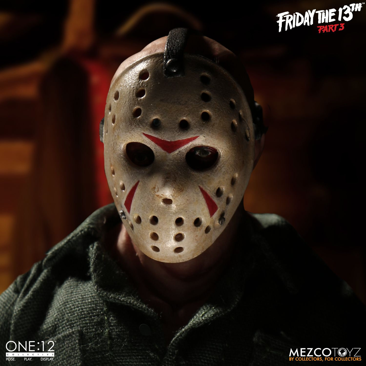 Mezco X One 12 Collective Friday The 13th Part 3 Jason