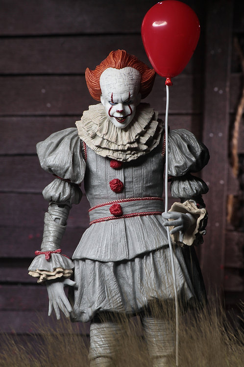 """NECA - IT (2017) Ultimate Pennywise 7"""" Scale Action Figure"""