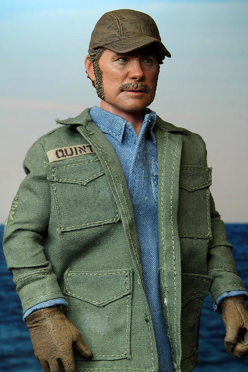 """NECA Jaws  Sam Quint 8"""" Clothed Action Figure"""