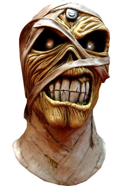 IRON MAIDEN – EDDIE POWERSLAVE MUMMY MASK