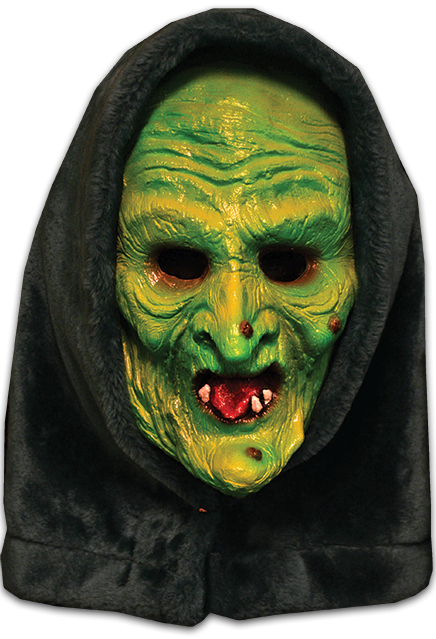 HALLOWEEN III:  SEASON OF THE WITCH – GREEN WITCH MASK