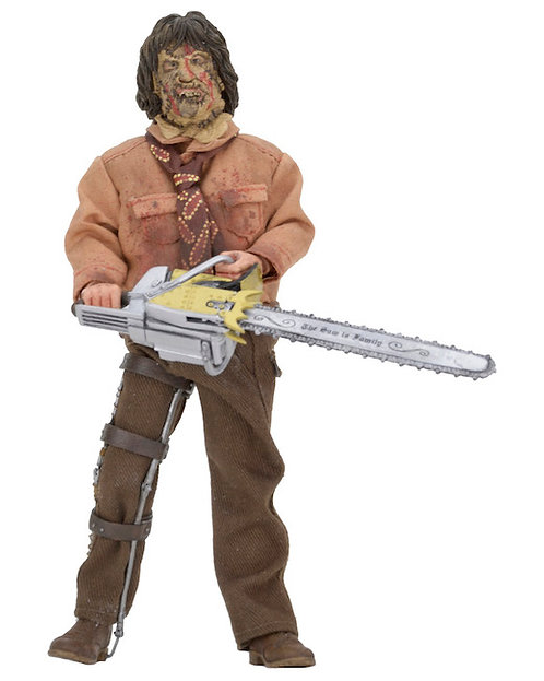 "NECA Texas Chainsaw Massacre 3 – Leatherface 8"" Clothed Action Figure"