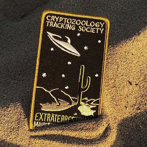 Extraterrestrials UFO – Embroidered Cryptozoology Patch