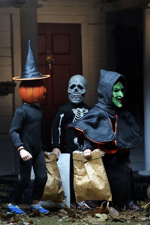"NECA Halloween III:  Season of the Witch — 8"" Clothed Action Figure 3-Pack"