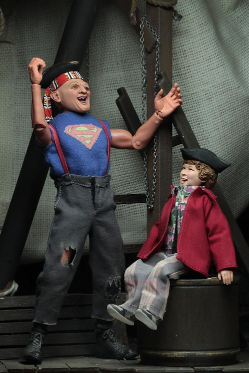 """NECA The Goonies – Sloth and Chunk 8"""" Clothed Action Figure 2-Pack"""