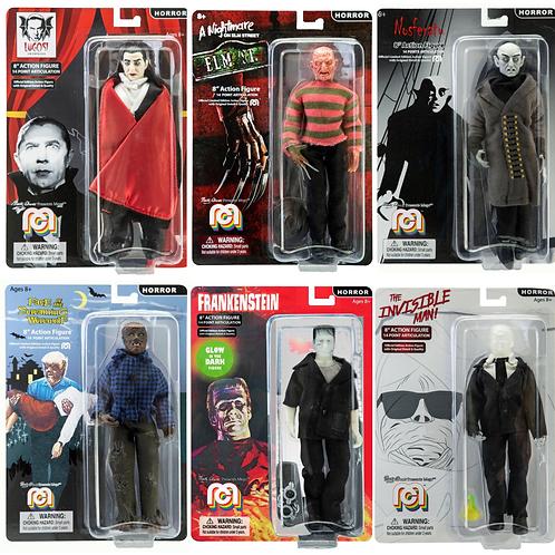 "Mego – Horror 8"" Clothed Action Figure Set of 6"