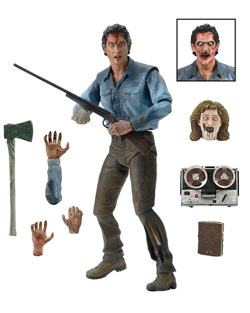 "NECA Evil Dead 2 - Ultimate Ash 7"" Scale Action Figure"