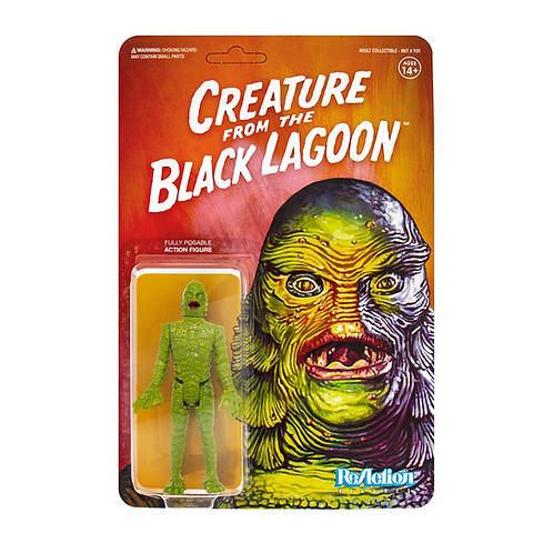 "Super7 – Universal Monsters Creature from the Black Lagoon 3.75"" ReAction Figure"