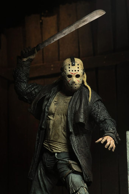 "NECA Friday the 13th (2009) – Ultimate Jason Voorhees 7"" Scale Action Figure"
