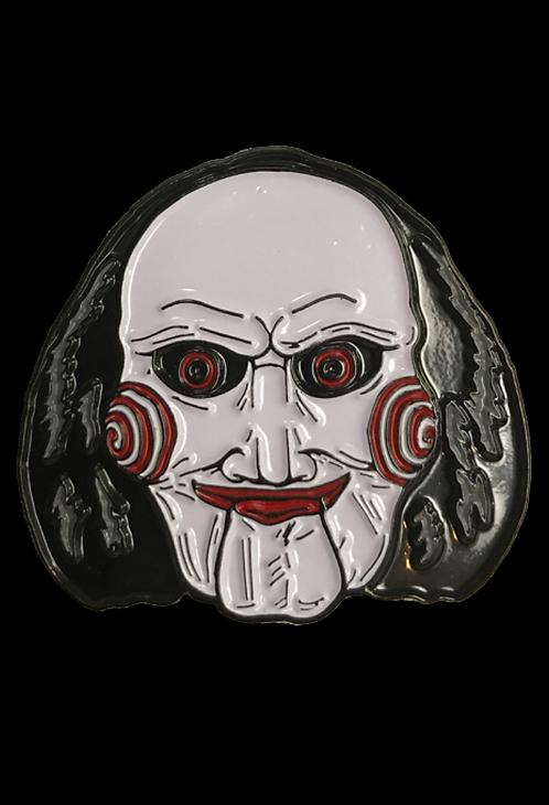 Saw – Billy Puppet Enamel Pin