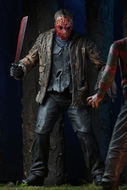 "NECA Freddy vs. Jason – Ultimate Jason Voorhees 7"" Scale Action Figure"