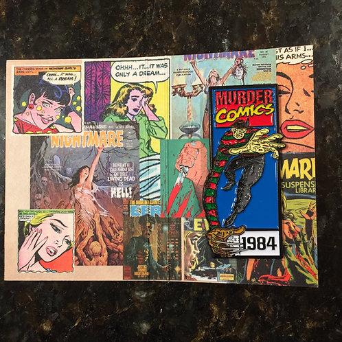 Murder Comics – Freddy Krueger Enamel Pin