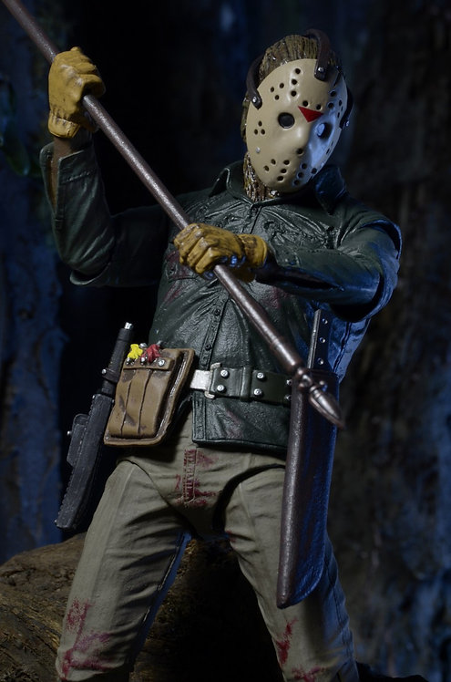 "NECA Friday the 13th Part 6 – Ultimate Jason 7"" Scale Action Figure"