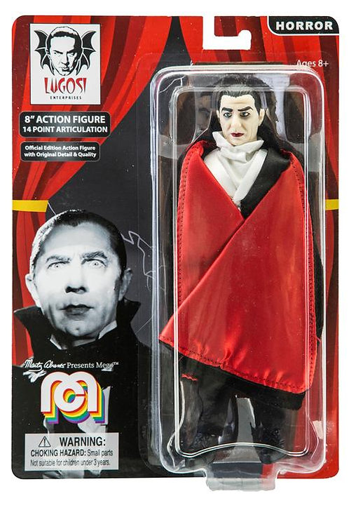 "Mego – Dracula 8"" Clothed Action Figure"