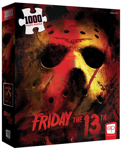Friday the 13th Jason Voorhees 1000 Piece Puzzle