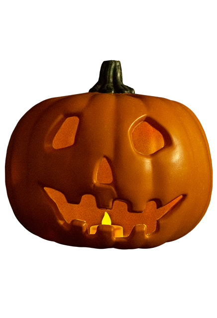 HALLOWEEN – LIGHT UP JACK O' LANTERN PUMPKIN PROP
