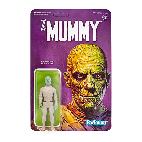 "Super7 – Universal Monsters The Mummy 3.75"" ReAction Figure"
