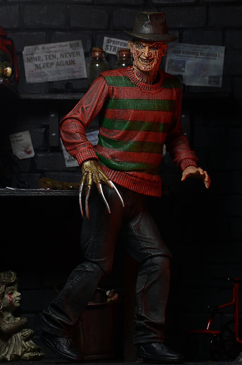 "NECA Nightmare on Elm Street – Ultimate Freddy 7"" Scale Action Figure"