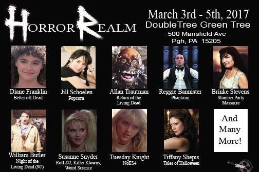 Visit us at Horror Realm Con this March!
