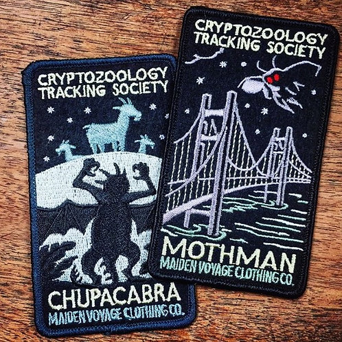 Mothman – Embroidered Cryptozoology Patch