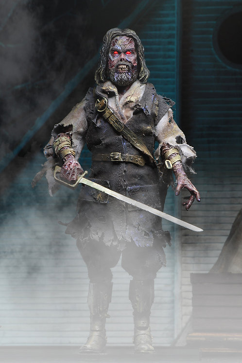 """NECA The Fog – Captain Blake 8"""" Clothed Action Figure"""