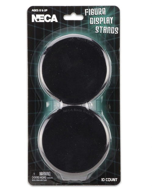 NECA Action Figure Display Stands – Black (10-pack)
