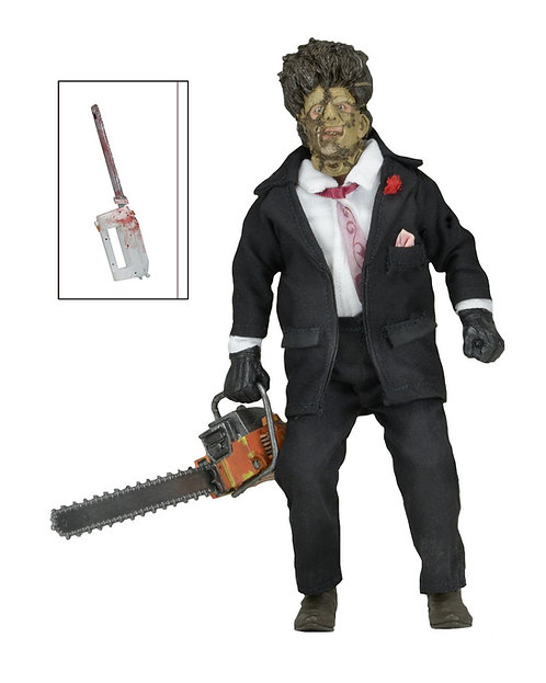 "NECA Texas Chainsaw Massacre 2 30th Anniversary – Leatherface 8"" Clothed Figure"