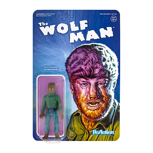"Super7 – Universal Monsters The Wolf Man 3.75"" ReAction Figure"