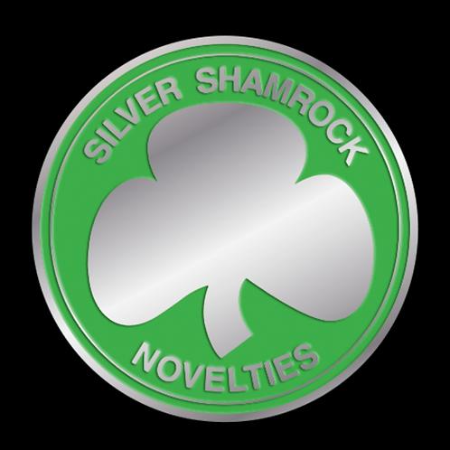 Halloween III Season of the Witch – Silver Shamrock Power Chip Enamel Pin