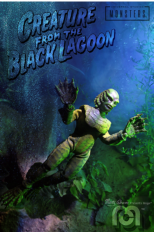 "Mego – Creature from the Black Lagoon 8"" Clothed Action Figure"