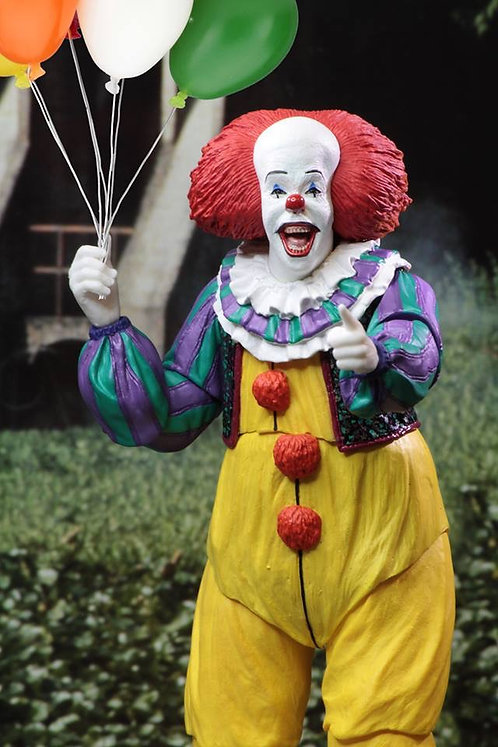 """NECA - IT (1990) Ultimate Pennywise 7"""" Scale Action Figure"""