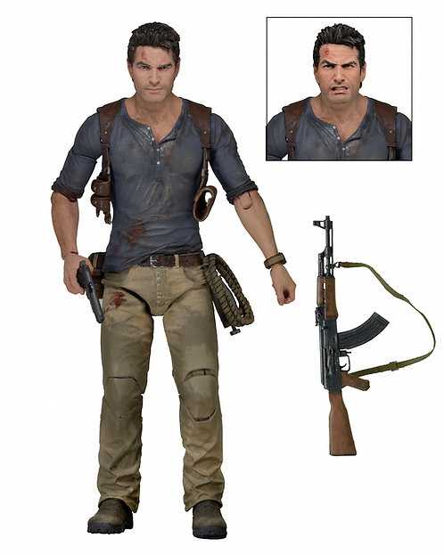 "NECA Uncharted – Ultimate Nathan Drake 7"" Scale Action Figure"