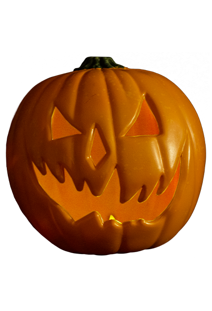 HALLOWEEN 6:  THE CURSE OF MICHAEL MYERS – LIGHT UP JACK O' LANTERN PUMPKIN PROP