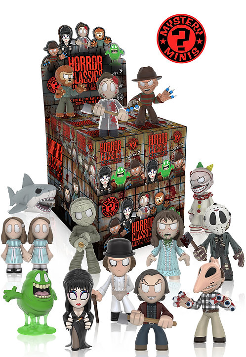 HORROR MYSTERY MINIS SERIES 3 – DISPLAY CASE OF 12