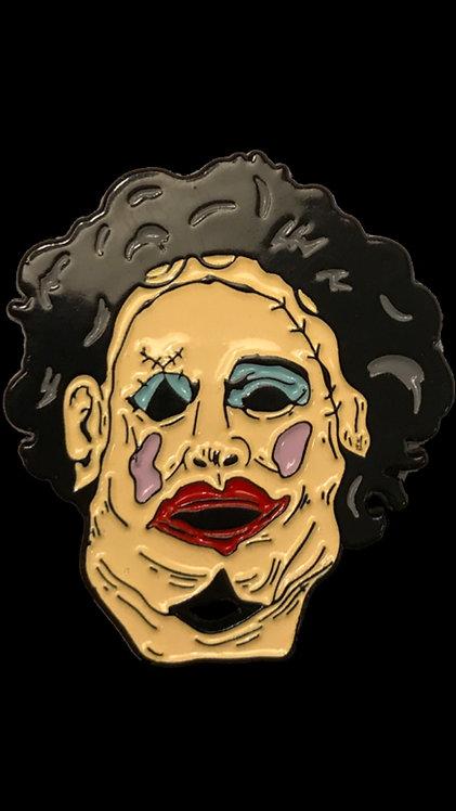 The Texas Chainsaw Massacre – Leatherface Pretty Woman Enamel Pin