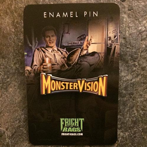 MonsterVision with Joe Bob Briggs – Enamel Pin