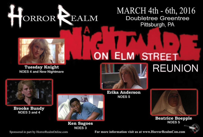 Coming Soon:  Horror Realm Con 2016 Spring Break Massacre!