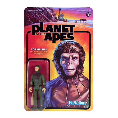 "Super7 – Planet of the Apes Cornelius 3.75"" ReAction Figure"