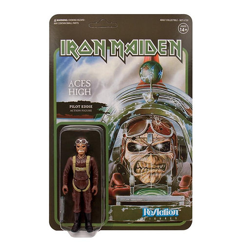 "Super7 – Iron Maiden Aces High 3.75"" ReAction Figure"