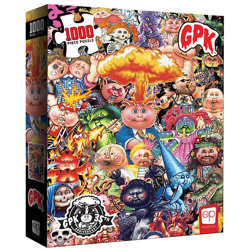 "Garbage Pail Kids 1000 Piece Puzzle – 35th Anniversary ""Yuck"" Edition"