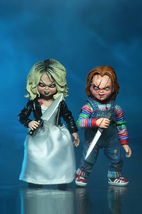 "NECA Bride of Chucky – Ultimate Chucky & Tiffany 7"" Scale Action Figure 2-Pack"