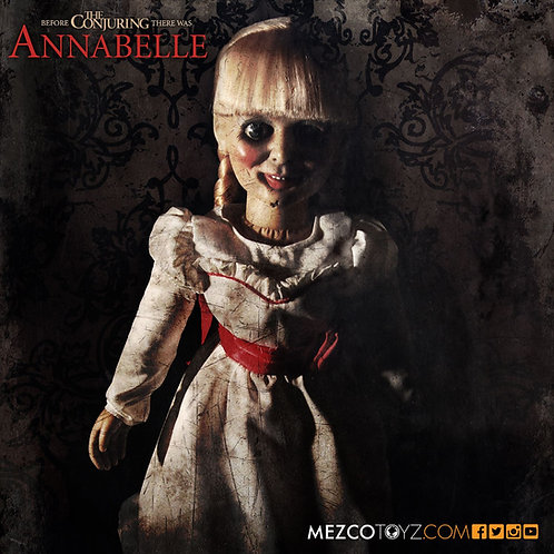 """Mezco – The Conjuring Annabelle Doll 18"""" Prop Replica"""