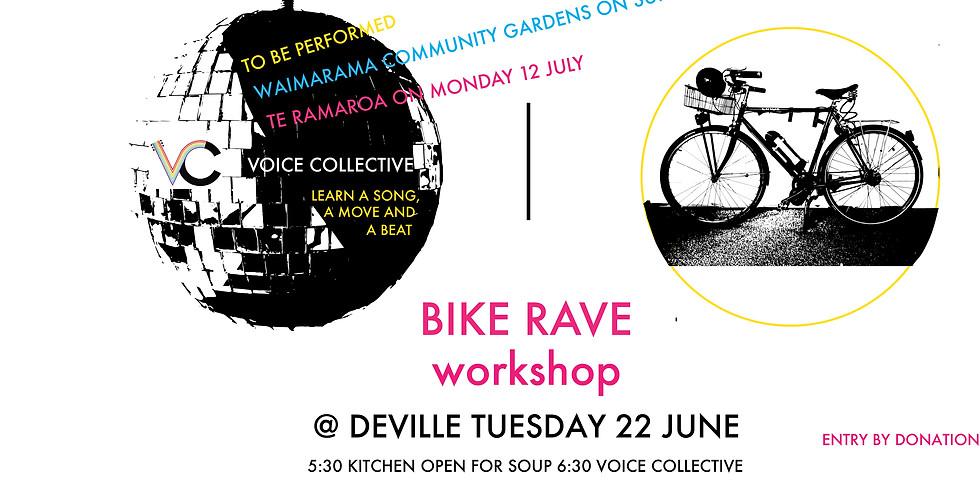 Bike Rave Workshop