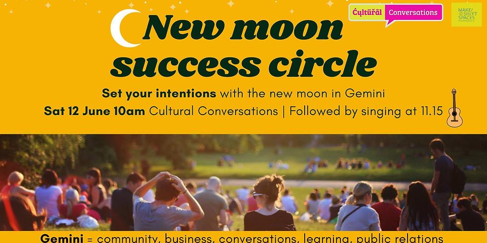 NEXT NEW MOON CIRCLE