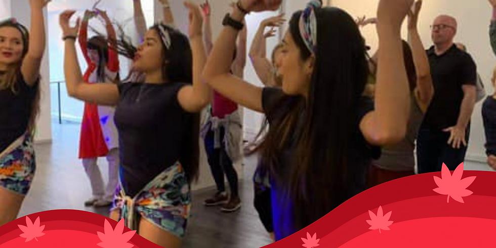 Colombian Dance workshop