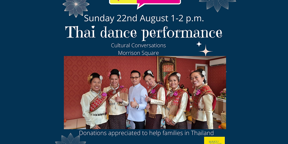 Thai Dance Fundraiser for families affected by Covid in Thailand