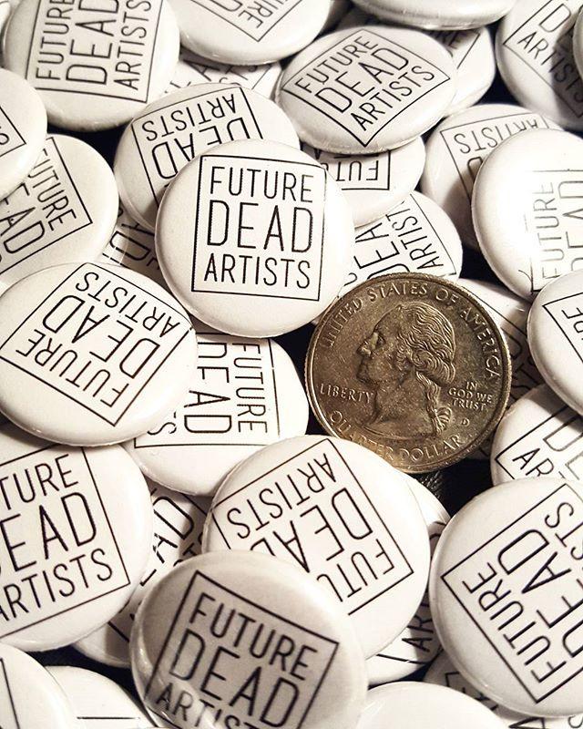 _futuredeadartists artshow was a delight